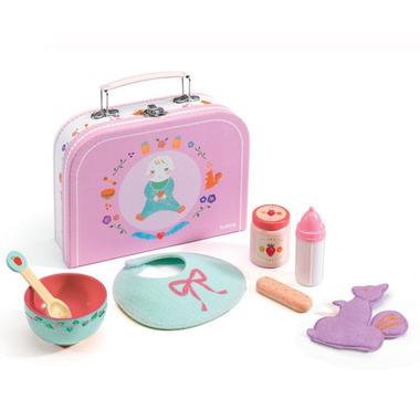 Djeco, zestaw do karmienia lalki-niemowlęcia