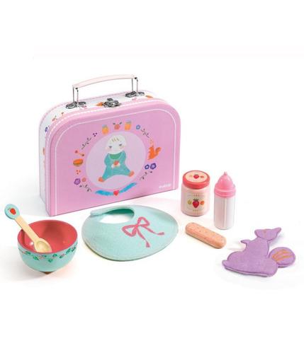 Zestaw do karmienia lalki-niemowlęcia Djeco
