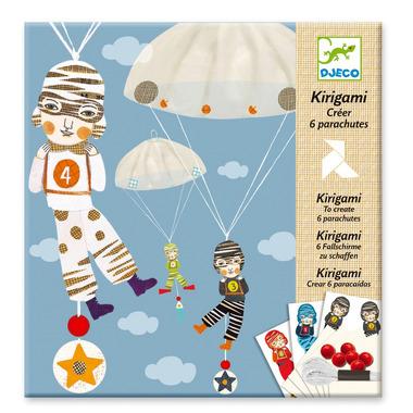Djeco, kirigami spadochroniarze