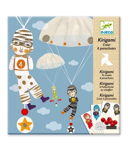 Kirigami spadochroniarze Djeco