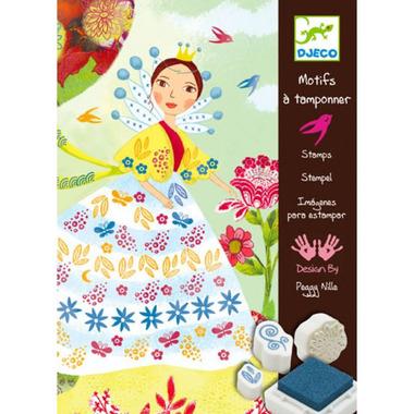 Djeco, zestaw artystyczny kwiatowa Pani