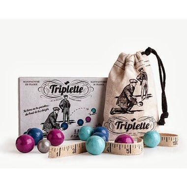 Gra zabawa Triplette - Petanka
