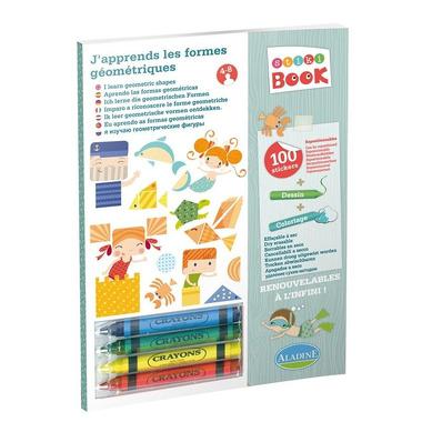 Stiki BOOK - Uczymy się figur geometrycznych