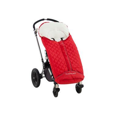Śpiworek do wózka czerwony Naf Naf