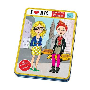 MUDPUPPY Magnetyczne postacie- I love NY