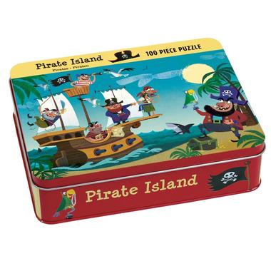 MUDPUPPY Puzzle – 100 elementów - Wyspa piratów