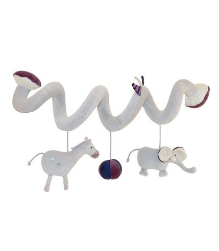 Edukacyjna zabawka wąż na łóżeczko Aime i Celeste