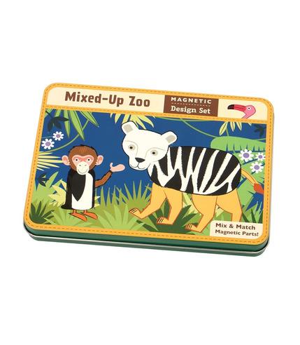 MUDPUPPY Magnetyczne konstrukcje - Zwierzęta w zoo