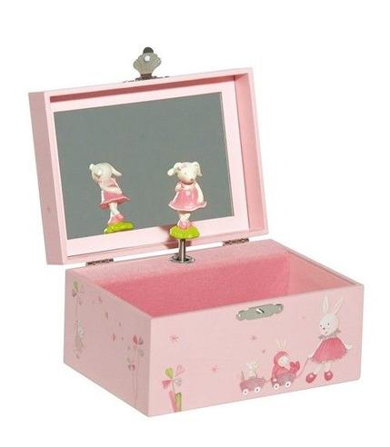 Pudełko na drobiazgi z pozytywką Myrtille et Capucine