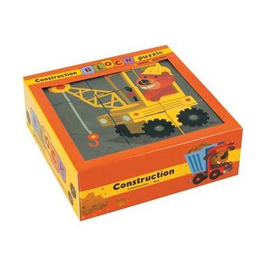 MUDPUPPY Puzzle 9 kostek - budowa