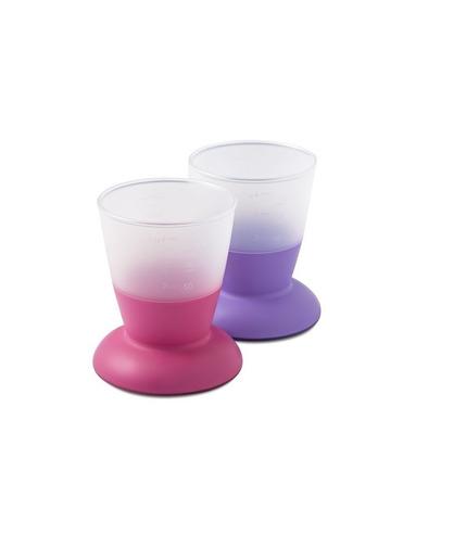 Kubki - 2szt fioletowy / różowy BabyBjörn