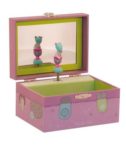 Pudełko na drobiazgi z pozytywką Les jolis pas beaux