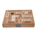 "Klocki  ""Peace & Love""®  29 szt. w pudełku"