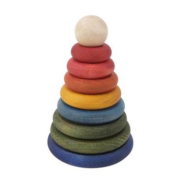 Piramida okrągła kolorowa