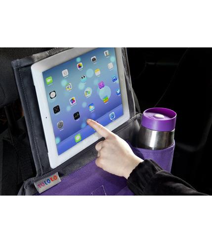 Organizer samochodowy z oknem na tablet