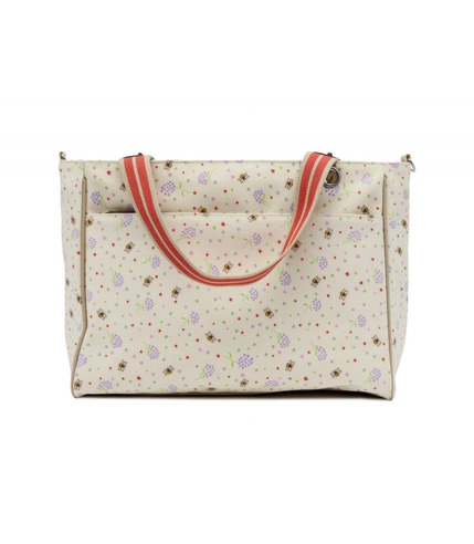 Torba Pink Lining Bramley Tote Bumble Bees And Stardust