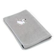 La Millou,  Ręcznik Newborn Bamboo Soft Grey  MOONLIGHT SWAN