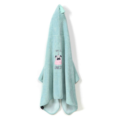 La Millou,  Ręcznik Kid Bamboo Soft Mint  Doggy Unicorn
