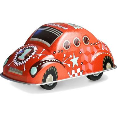 Vilac, Czerwone autko z napędem zabawka metalowa od 3 lat