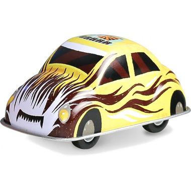 Vilac, Żółte autko z napędem zabawka metalowa od 3 lat