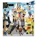 Puzzle tekturowe - Fantastyczny zamek Djeco