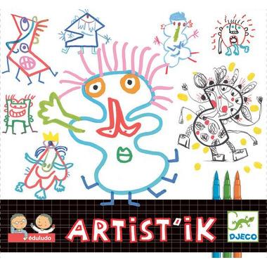Djeco, zestaw kreatywny Artistik