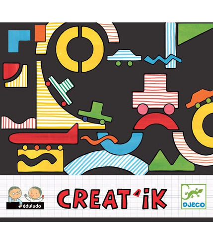 Zestaw kreatywny Creatik DJECO