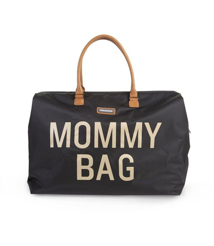 Childhome, Torba Mommy Bag  czarno-złota