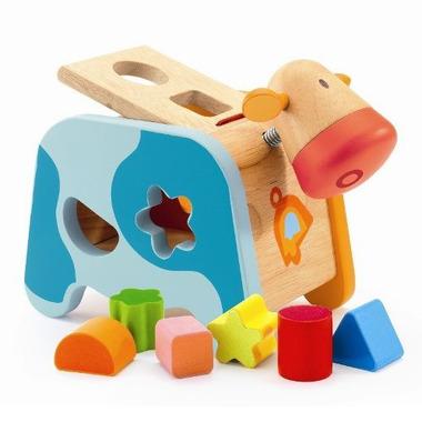 Djeco, krówka - sorter kształtów