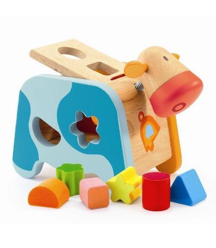 Krówka - sorter kształtów