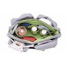 Lassig, ekologiczna torba Green Label Neckline Bag Black Melange