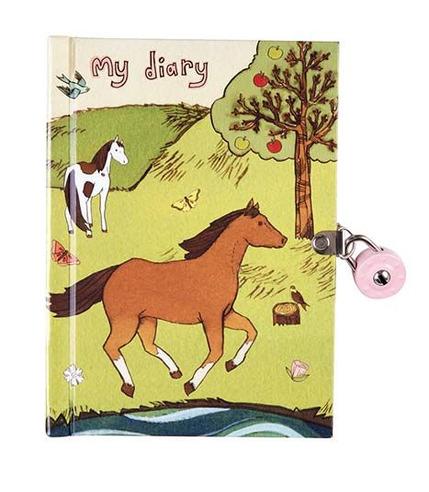 Mudpuppy, kolorowy pamiętnik - Konik