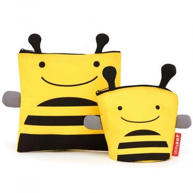 Skip Hop, saszetki na drugie śniadanie i przekąski - Pszczoła
