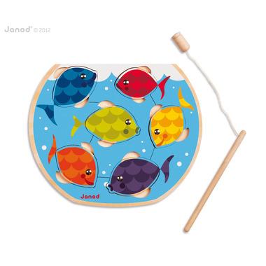 Janod, puzzle magnetyczne rybki i wędka