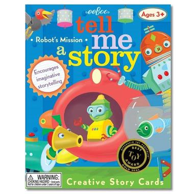 Zestaw kreatywny opowiedz mi historię o misji robotów