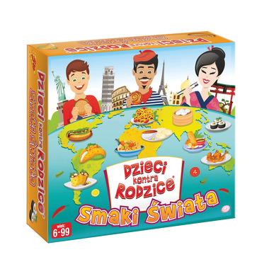 Gra maxi smaki świata dzieci kontra rodzice