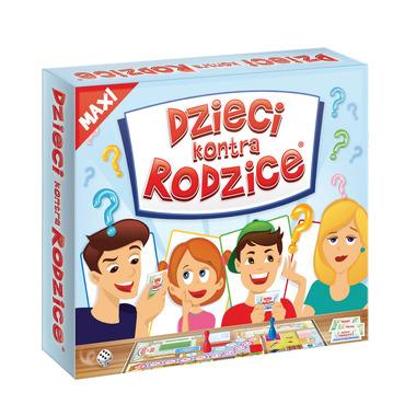 Gra maxi dzieci kontra rodzice