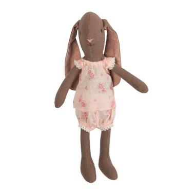 Maileg, królik dziewczynka Bunny brown mini