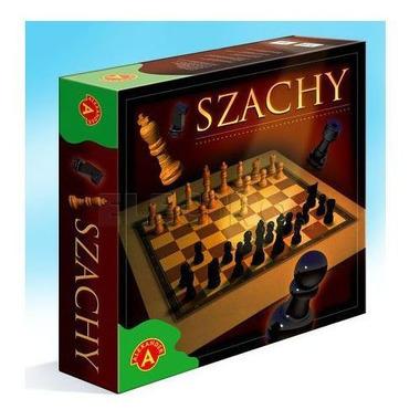 Gra szachy drewniane 0285