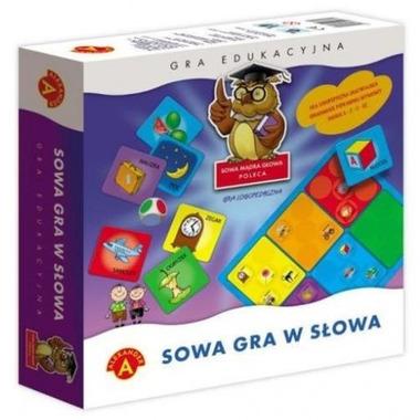 Gra sowa gra w słowa sowa mądra głowa 0374