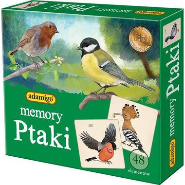 Gra memory ptaki
