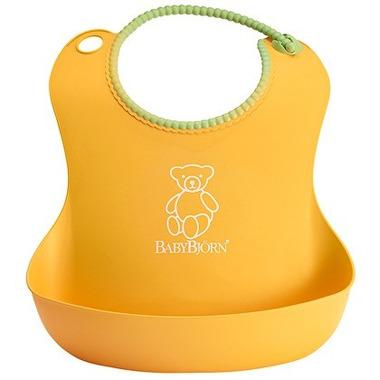 BabyBjorn, Śliniaczek z rynienką żółty