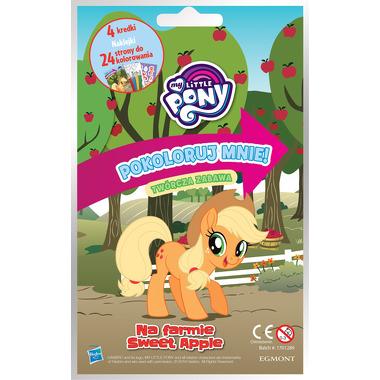 Na farmie sweet apple my little pony pokoloruj mnie