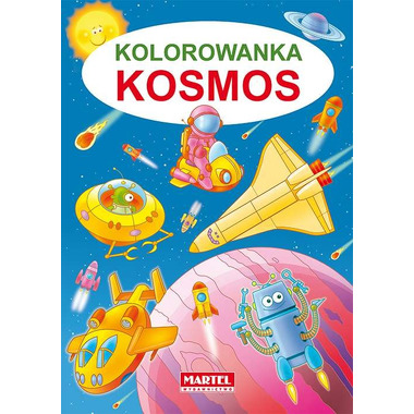 Kosmos kolorowanka