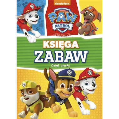 Dalej pieski psi patrol księga zabaw