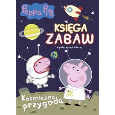 Kosmiczna przygoda peppa pig księga zabaw