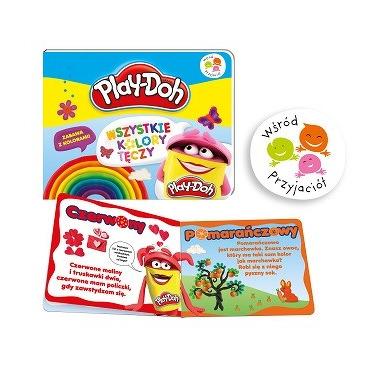 Wszystkie kolory tęczy play-doh