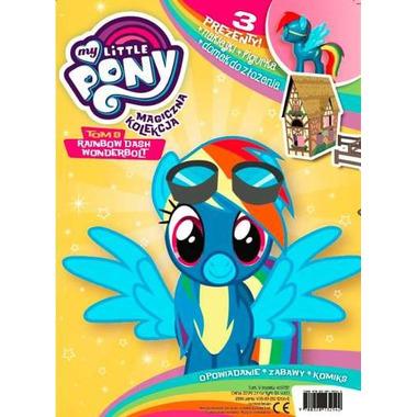 Rainbow dash wonderbolt my little pony magiczna kolekcja tom 9