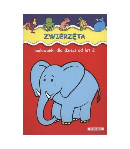 Zwierzęta malowanki dla dzieci od lat 2