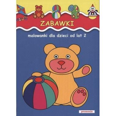 Zabawki malowanki dla dzieci od lat 2